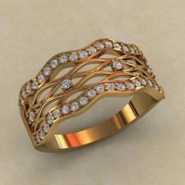 Женское кольцо КЕ-864