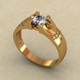 Кольцо женское 0140-КЕ