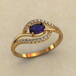 Женское кольцо 0302-КЕ