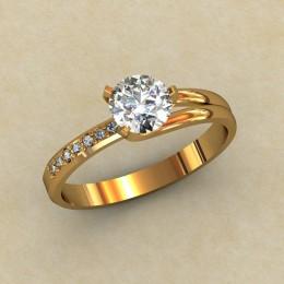 Кольцо женское 0305-КЕ