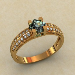 Женское кольцо 0312-КЕ