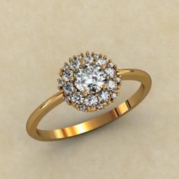 Кольцо женское 0313-КЕ