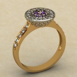 Женское кольцо 0314-КЕ