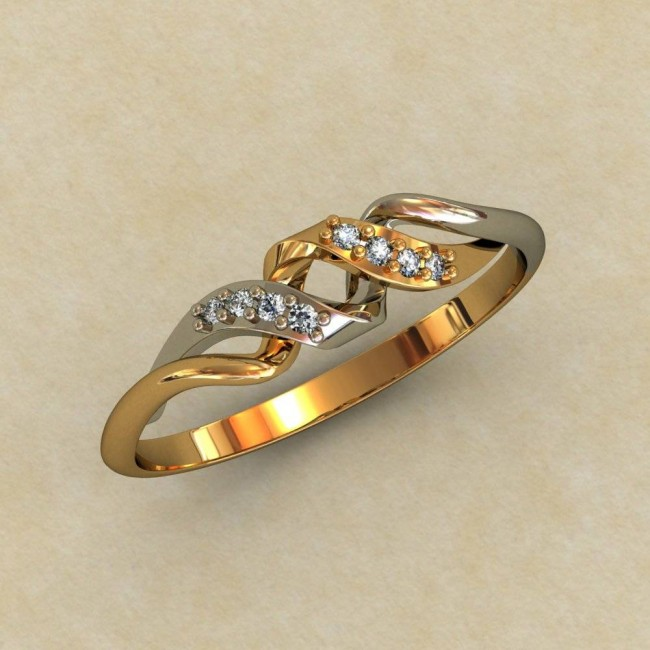 Женское кольцо 0315-КЕ