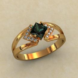 Женское кольцо 0318-КЕ