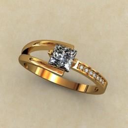 Кольцо женское 0319-КЕ