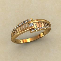 Женское кольцо 0342-КЕ