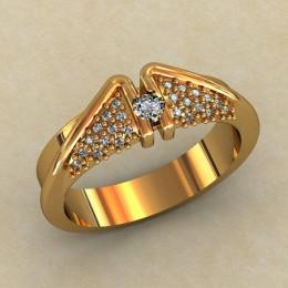 Кольцо женское 0361-КЕ