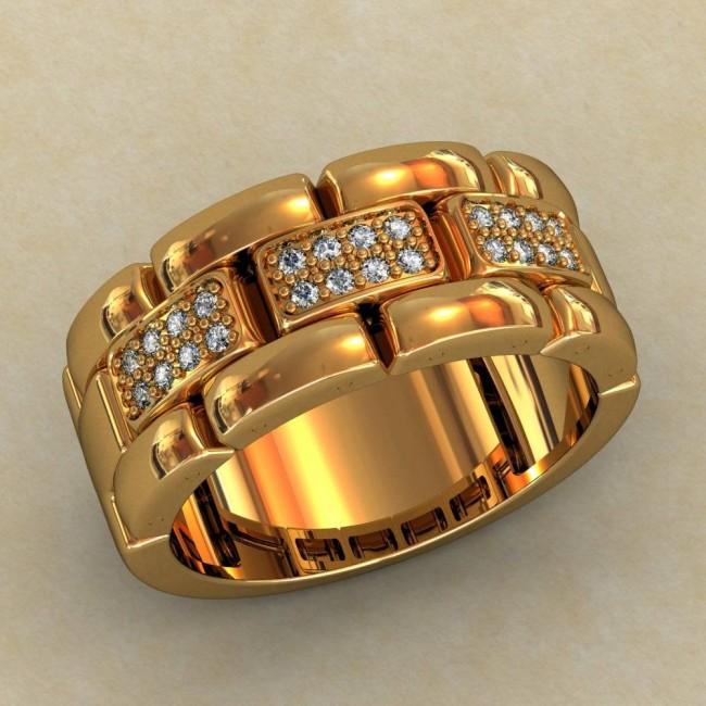 Женский перстень 0365-КЕ