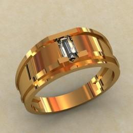 Женское кольцо классическое 0373-КЕ
