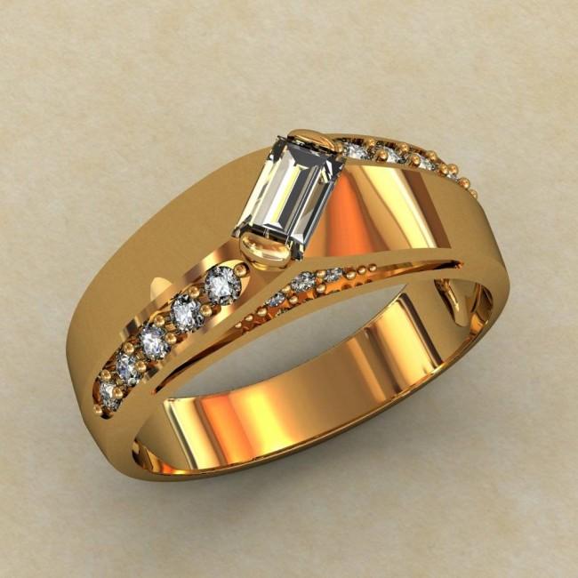 Женское кольцо классическое 0375-КЕ