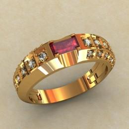 Женское кольцо классическое 0378-КЕ