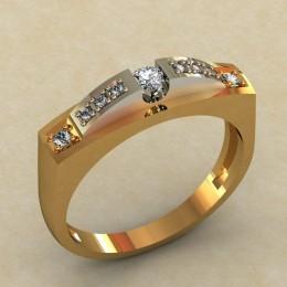 Кольцо женское 0380-КЕ