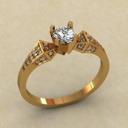Женское кольцо 0441-КЕ