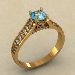 Женское кольцо 0442-КЕ