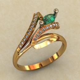 Женское кольцо 0445-КЕ