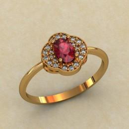 Женское кольцо 0447-КЕ