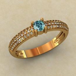 Женское кольцо 0449-КЕ