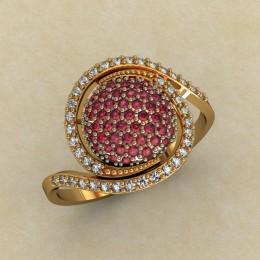 Женское кольцо 0452-КЕ