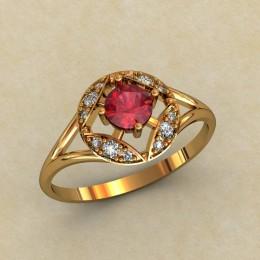 Женское кольцо 0453-КЕ