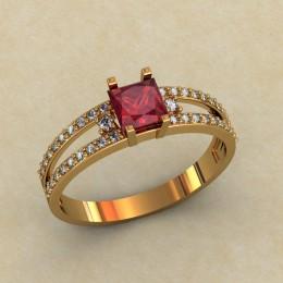 Женское кольцо 0456-КЕ