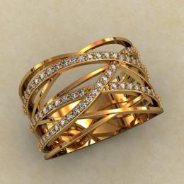 Женский перстень 0460-КЕ