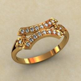 Женское кольцо 0468-КЕ
