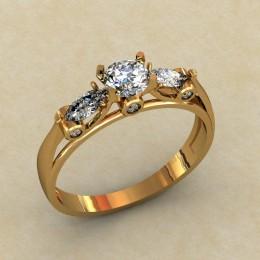 Женское кольцо 0470-КЕ