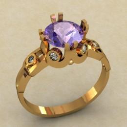 Женское кольцо 0472