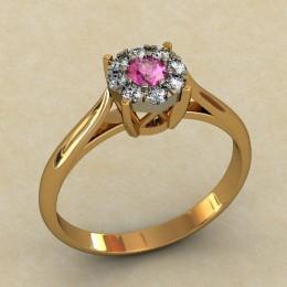 Женское кольцо 0475-КЕ