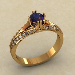 Кольцо женское 0478-КЕ