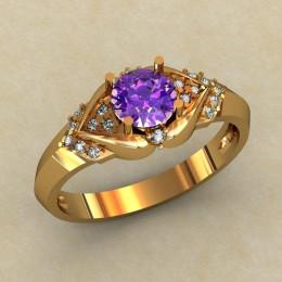 Женское кольцо 0479-КЕ
