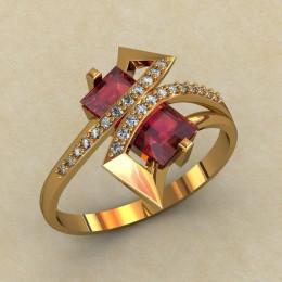 Женское кольцо 0480-КЕ
