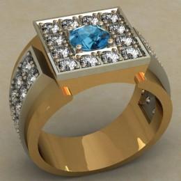 Мужское кольцо 0481