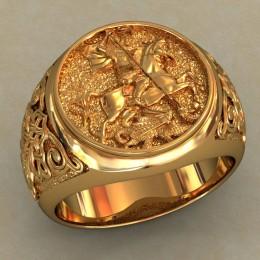 Мужское кольцо 0483