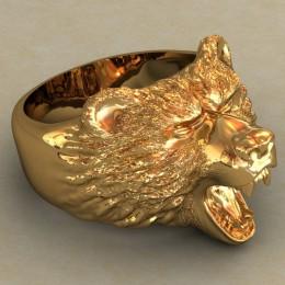 Мужское кольцо 0485