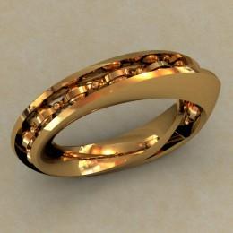 Мужское кольцо 0486