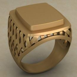 Мужское кольцо 0487