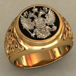 Мужское кольцо 0488