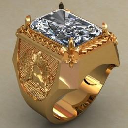 Мужское кольцо 0489
