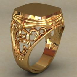 Мужское кольцо 0493