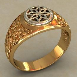 Мужское кольцо 0496