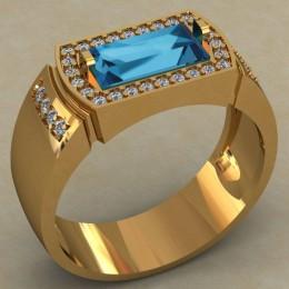 Мужское кольцо 0497