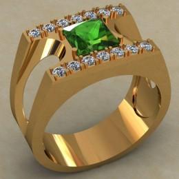 Мужское кольцо 0498