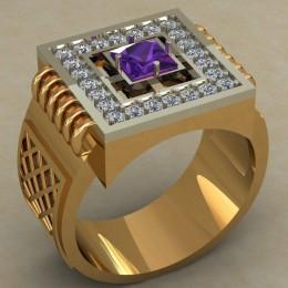 Мужское кольцо 0499
