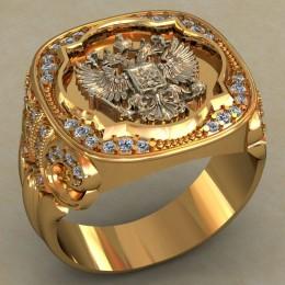 Мужское кольцо 0500
