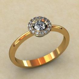 Женское кольцо 0321