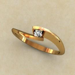 Женское кольцо 0322