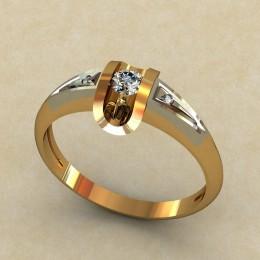 Женское кольцо 0323