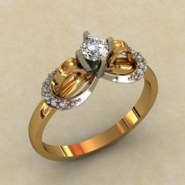 Женское кольцо 0325